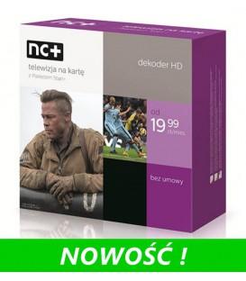 NC+ START z dekoderem ADB 2850 - 1 miesiąc ZA DARMO - dekoder na własność