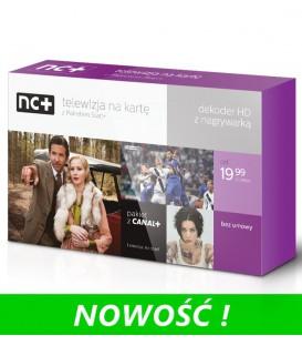 NC+ START z dekoderem 5800SX z dyskiem 250 GB - 1 miesiąc ZA DARMO - dekoder na własność