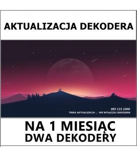 Aktualizacja Dekodera